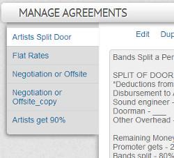 MusicIDB agreements