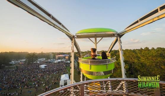 Hulaween Suwanee Ferris Wheel String Cheese Incident